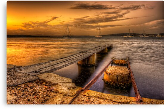 Marks Point Sunset NSW by Ian English