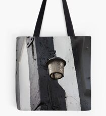 The lamp on The Royal Oak Tote Bag