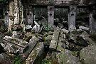 Amongst the Rubble, Cambodia by Michael Treloar