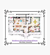House of Lorelai & Rory Gilmore - Ground Floor Photographic Print