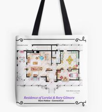 House of Lorelai & Rory Gilmore - Ground Floor Tote Bag