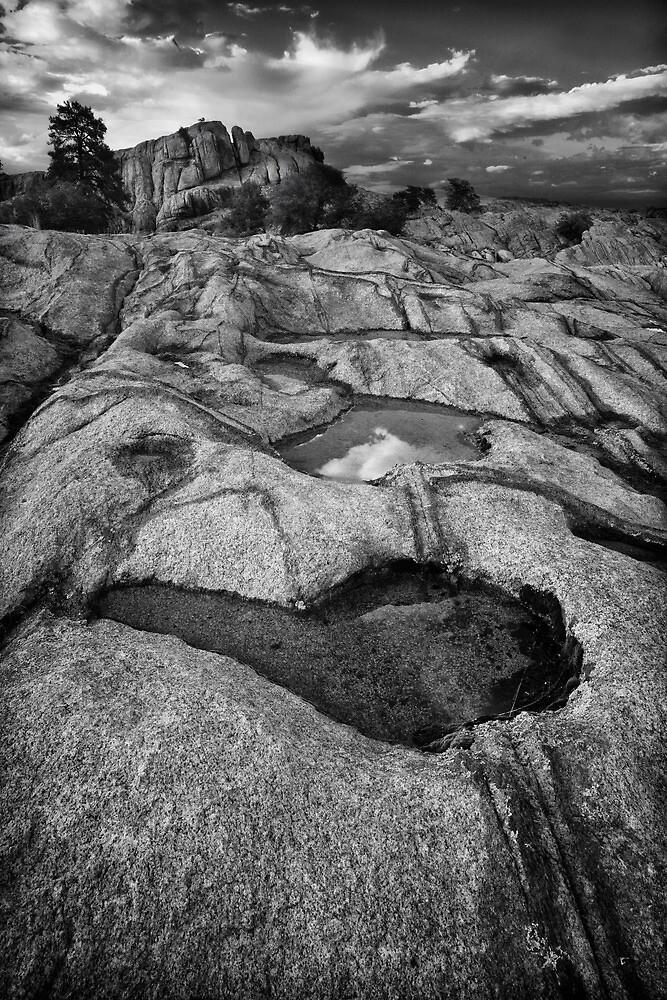 Granite Overflow 2 by Bob Larson