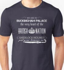 Listen to Mycroft Unisex T-Shirt