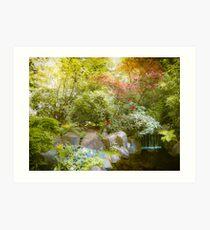 Japanese Garden_2 Art Print