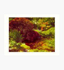 Japanese Garden_3 Art Print