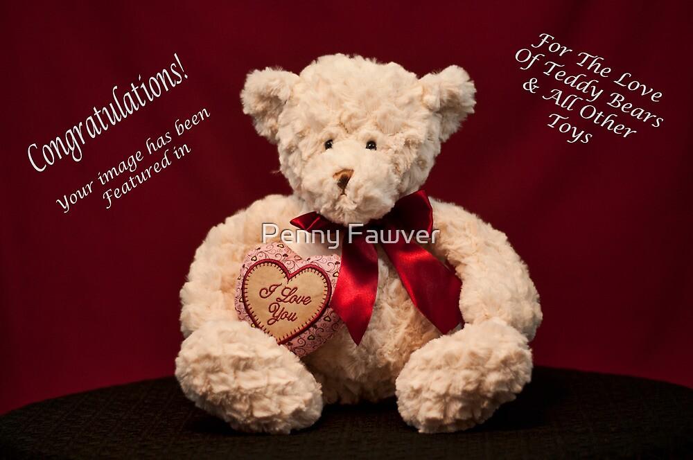 Teddy Bear Banner Challenge by Penny Rinker