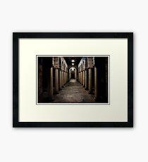 UWA Archway Framed Print