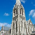 The Original Christ Church Cathedral, Christchurch by Dilshara Hill