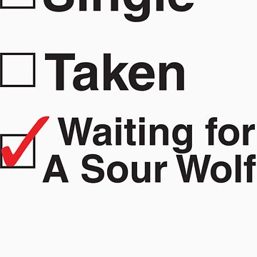 TEEN WOLF - WAITING FOR A SOUR WOLF by thischarmingfan