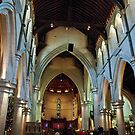 Inside Christchurch Cathedral by Dilshara Hill
