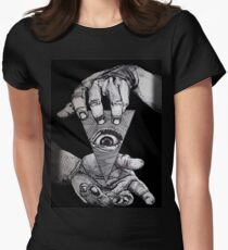 THE THIRD EYE Women's Fitted T-Shirt