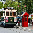 Christchurch Tram by Dilshara Hill