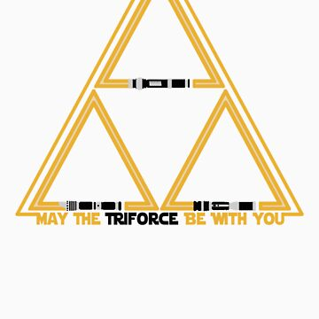 May the Triforce be with you by Baardei