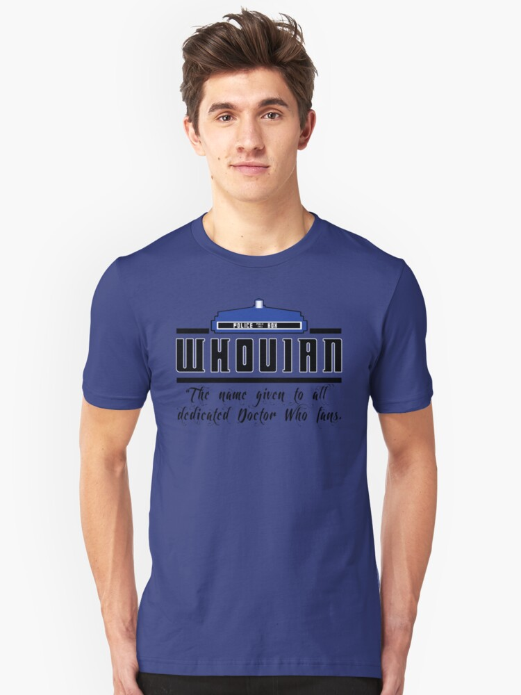 Whovian definition Unisex T-Shirt Front