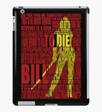 Kill Bill redux iPad Case/Skin