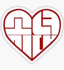 SNSD: Heart Emblem Sticker