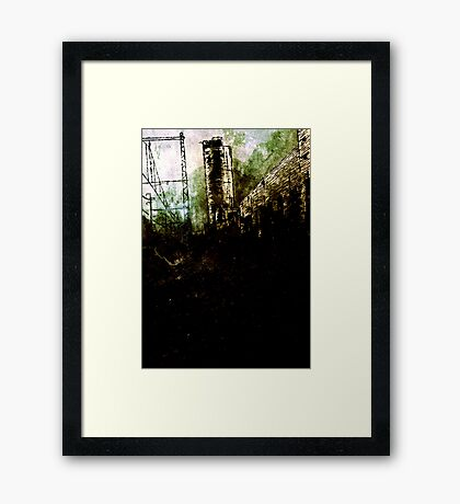 Empty Spaces Framed Print