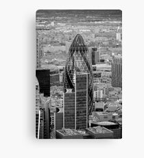 The Gherkin London Canvas Print