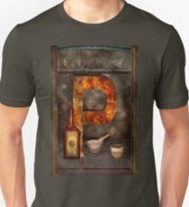 Steampunk - Alphabet - P is for Pharmacy Unisex T-Shirt