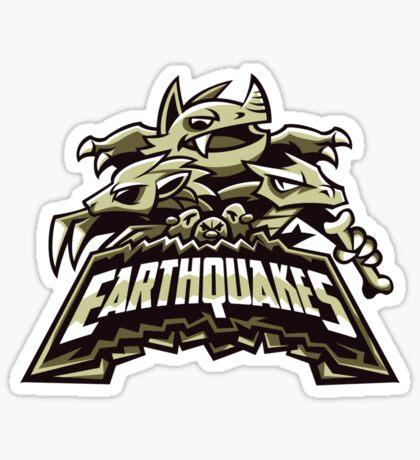 Ground Team - Earthquakes Sticker