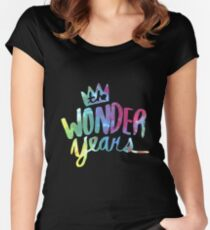 The Wonder Years Women's Fitted Scoop T-Shirt