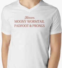 Messrs Moony, Wormtail, Padfoot and Prongs T-Shirt