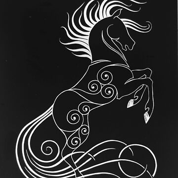Rearing Horse by CapallGlas