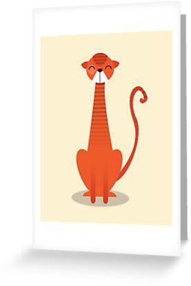 Orange Cat by volkandalyan