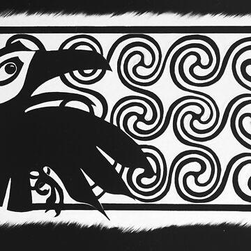 Spiral Raven by CapallGlas