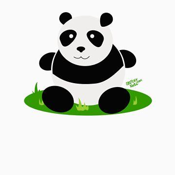 Random Panda by dinoneill