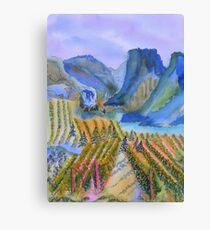 Okanagan Vineyard 2 Canvas Print