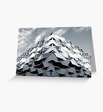 Futurism Greeting Card