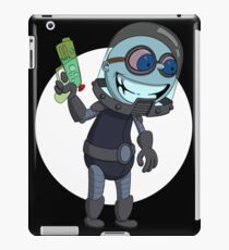 Mr Freeze heats things up iPad Case/Skin