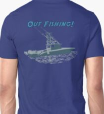 Out Fishing Unisex T-Shirt