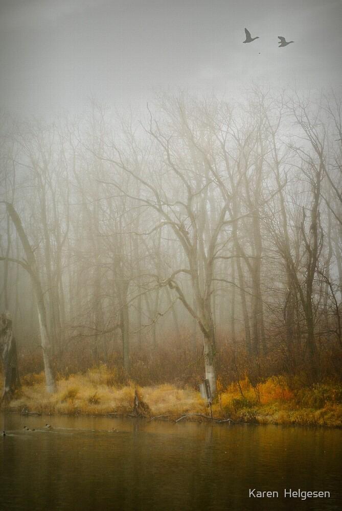 Inside the Rain... by Karen  Helgesen