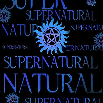 Supernatural In Blue by stormthief19