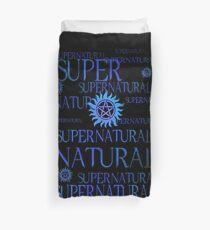 Supernatural In Blue Duvet Cover