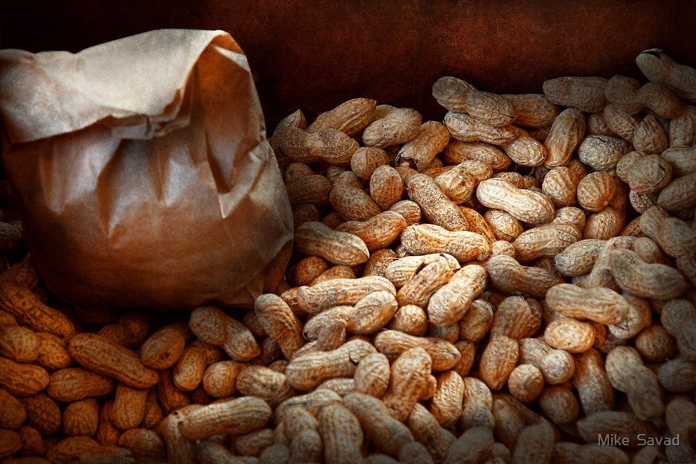 Food - Peanuts  by Mike  Savad