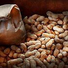 Food - Peanuts  by Michael Savad