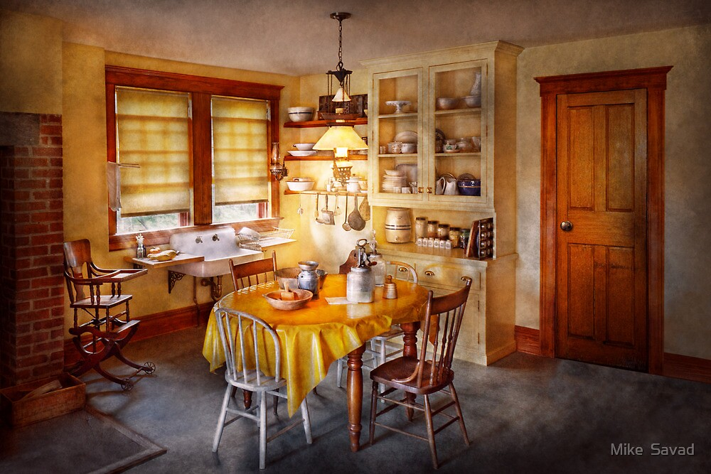 Kitchen - Typical farm kitchen  by Michael Savad