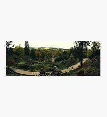 Chatsworth Gardens Photographic Print