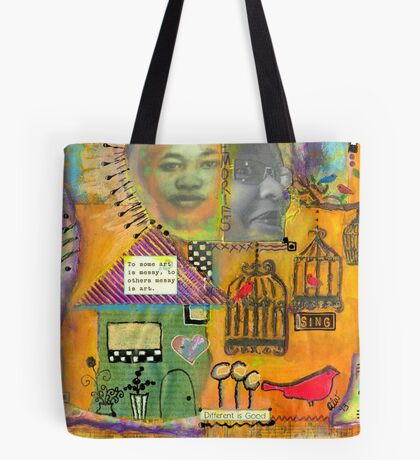 Different is Good Tote Bag