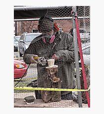 groundhog sculpture Photographic Print