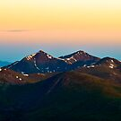 Greys and Torreys Peak in the Morning by Reese Ferrier