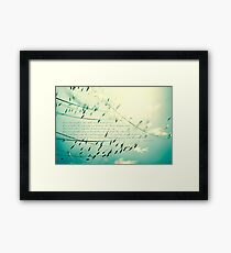 Love one another... Framed Print