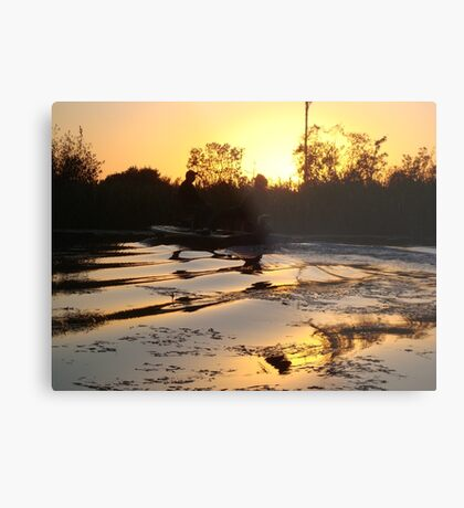 Fish Stories Metal Print