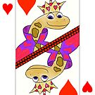 Smiling Snake King of Hearts by SeaSerpent