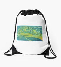 Sea Turtle Drawstring Bag