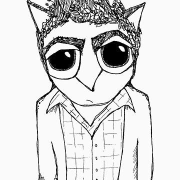 Kramer Owl by annieclayton