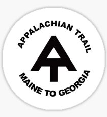 Appalachian Trail- Maine to Georgia Sticker